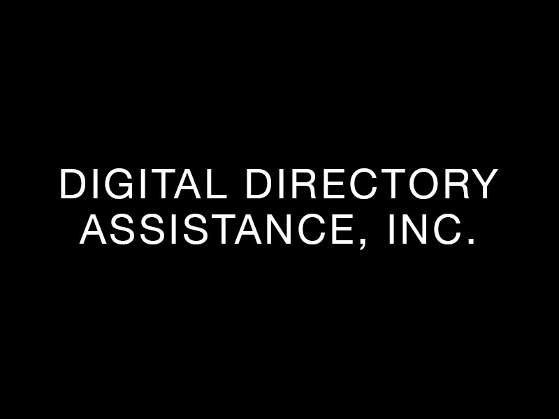 Digital Directory Assistance, Inc.