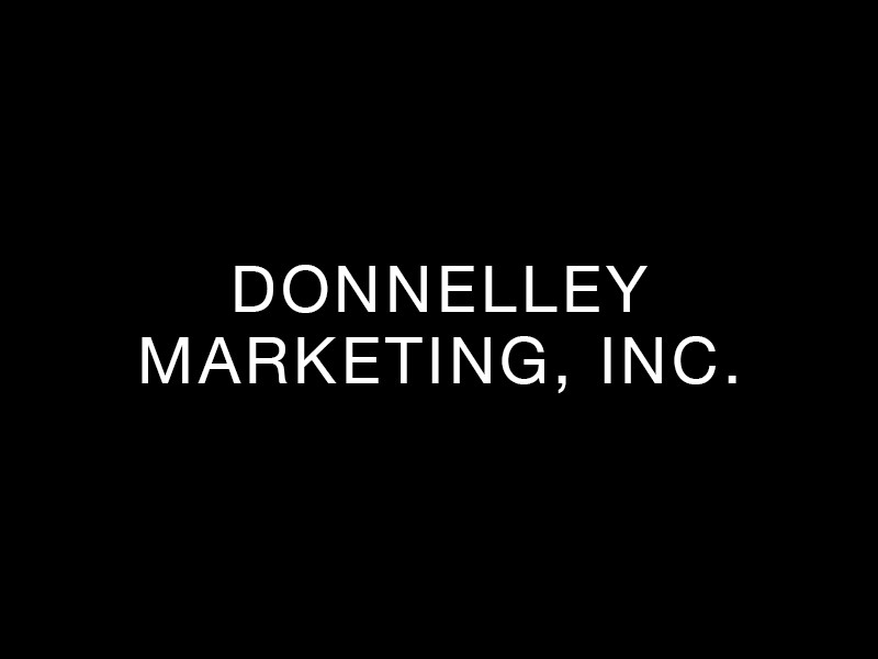 Donnelley Marketing, Inc.