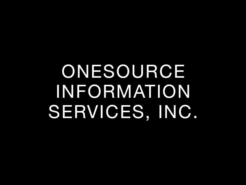OneSource Information Services, Inc.