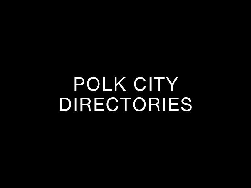 Polk City Directories